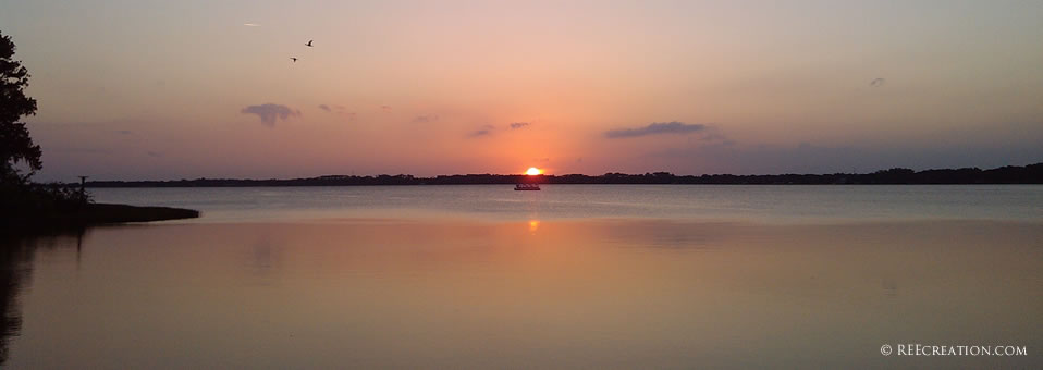 Sunset over Lake Dora - May 2013