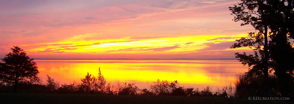 Sunset over Lake Apopka